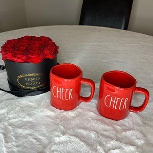 Rae Dunn Cheer Mug Set
